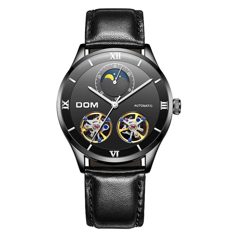 Men Automatic Wristwatch Mechnical Watch Tourbillon Businessman Fashion Waterproof Luminous Male Luxury Relogio Masculino