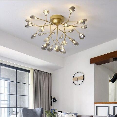 luzes de teto modernas para sala de estar decoracao dourada para teto luminaria de