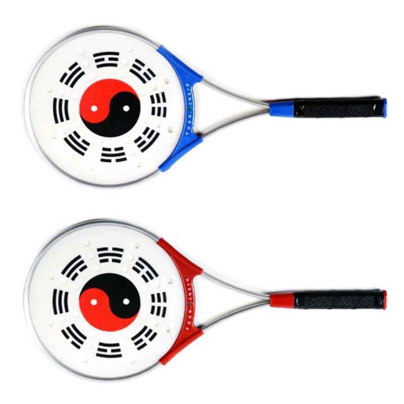 1 Racket + 2 Balls + 1 Bag Of Chinese Tai Chi Aerobics Martial Arts Tai Chi Soft Ball Outdoor Sports Tai Chi Racket Set