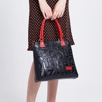 цена на HOT ZOOLER Luxury brand Handbags Women 2020 Designer Genuine Leather Bag Women Cow Leather purses and handbags bolsa feminina