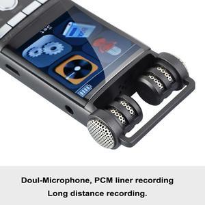 Image 4 - Gravador de áudio digital ativado por voz, 8gb, 16gb, usb, caneta sem parada, 100hr, gravação pcm 1536kbps mp3 player hifi,
