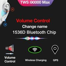 True Bluetooth 5.0 Earphone i90000 MAX TWS Wireless Headphon