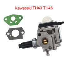 Air Carburetor Kit Easy to install Replacement Trimmer For Kawasaki TH43 TH48