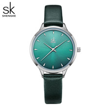 Shengke Women Watches Multi Color Lady Fashion Quartz Watch