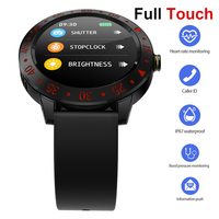 Full Touch Smart Watch Men IP67 Waterproof Heart Rate Monitor Long Time Standby Smartwatch For Samsung iphone IOS Android pk iwo