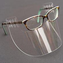 1/5 pces durável máscara protetora viseira proteção combinar plástico transparente reutilizável respirável máscara facial moda mascarilla