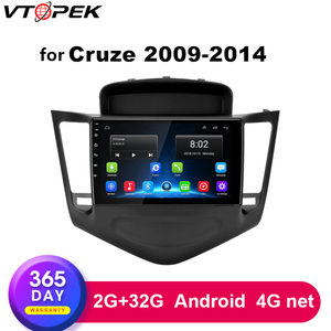 2G+32G Android 9 inch Car Radio For Chevrolet Cruze J300 2009-2014 Multimedia Video Player Navigation GPS 2 din Head Unit dvd(China)