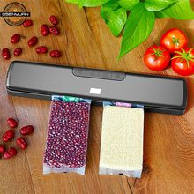 Hot 90-240V New Dry&wet Food Vacuum Sealer Machine For Food Saver With 20PCS Bags Home Electric Vacuum Sealer Packaging Machine(China)