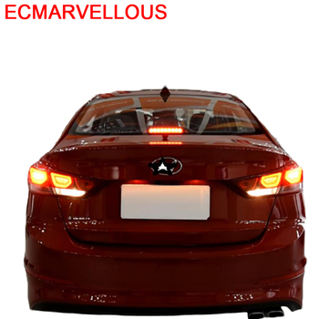 Drl Automobiles Accessory Styling Cob Lamp Neblineros Led Para Auto Rear Car Lights Assembly 17 18 19 FOR Hyundai Elantra