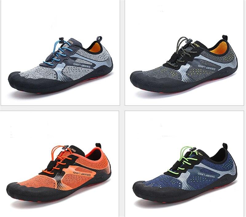 Verão sapatos de água mulher chinelos de