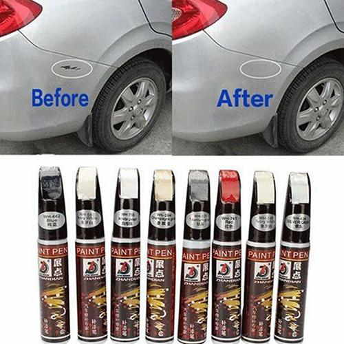 Waterproof Car Paint Pen Scratch Repair Pen Remover Paint Marker Car Tyre Tire Tread Rubber Touch Up Pen Paint Care