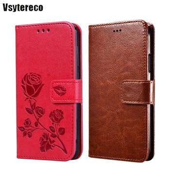 Перейти на Алиэкспресс и купить Чехол-Кошелек для Ulefone Note 8P 5,5 дюйм, флип-чехол из кожи, винтажный Чехол-книжка с подставкой для телефона, чехол s для Carcasas Ulefone Note 7 7P Mujer Capa