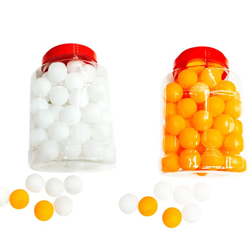 60pcs/set Table Tennis Balls 40mm PVC Professional Training Ping Pong Balls Racquet Sports Accessories
