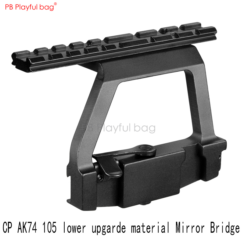 Outdoor CS MST AK74U Mirror Bridge Water Bullet Gun Accessories Special Handguard Guide Rail AK Side Mirror Bridge Jinming QE59