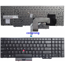 GUXl Keyboard Teclado US English for g5.6 Inch IBM Lenovo ThinkPad Edge E530 E530C E545