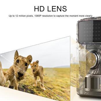 12MP 1080P Trail Hunting Camera Wildcamera Wild Surveillance HT001B Night Version Wildlife Scouting Cameras Photo Traps Track 4