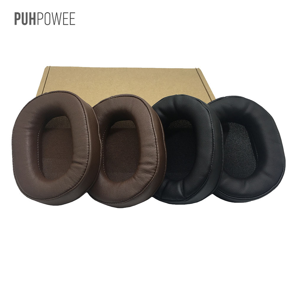 PUHPOWEE Replacement Earpads for Ausdom M04S M05 Headphones Cushion Cover Pillow Headset