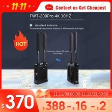 Feidu FWT 200PRO 4K Kép HDMI Truyền Dẫn Không Dây 2106P 30Hz Hình Ảnh HD Video Canon Sony DSLR camera PK Hollyland