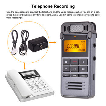 One-Button Recording Voice-Activated Support Recording  2