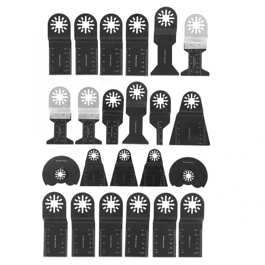 23Pcs/set Oscillating  Kit High Carbon Steel For Cutting Plastic Wood Soft Metal