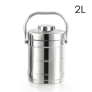 Image 3 - 1.6/2.0L healthy Material Vacuum Insulated thermos Lunch Box Stainless Steel Thermal Food Jar Vacuum Thermos Insulated LunchBox