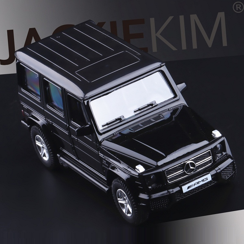 High Simulation Exquisite Diecasts & Toy Vehicles: RMZ City Car Styling G63 AMG Off-Road Luxury SUV 1:36 Alloy Diecast Car Model