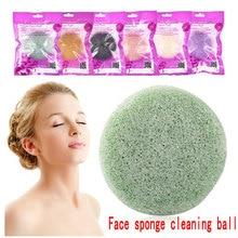 Wash-Ball Sponge-Face Face-Wash Bamboo-Charcoal Konjac And Oil-Control Cuticle