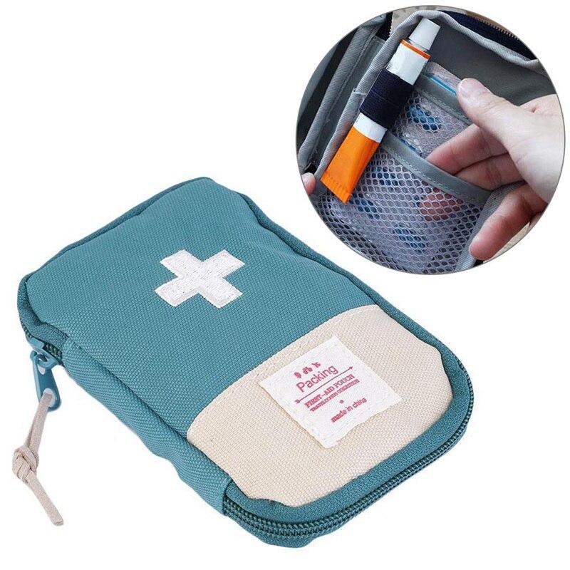 Image 4 - Наружная аптечка первой помощи, аптечка для лекарственных  средств, коробка для таблеток, домашний набор для выживания в  автомобиле, маленький чехол 600D ОксфордАварийные наборы   -