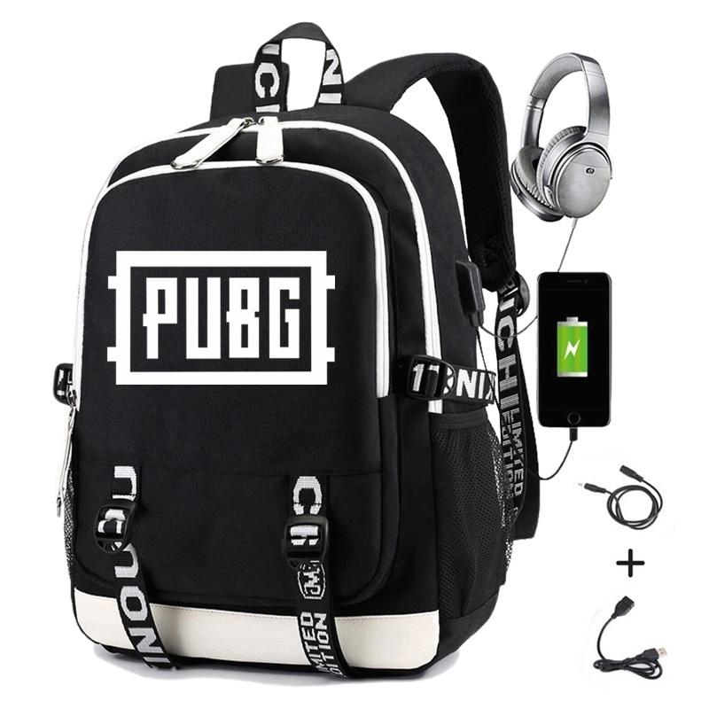 THIKIN Cool PUBG Game Men Backpack Women School Supplies Satchel Casual Book