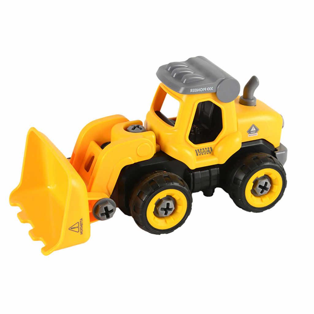اتخاذ ما عدا اللعب مع الحفر الكهربائية يعتنق التحكم عن بعد سيارات لعب للأولاد 3 في واحد شاحنة بناء تأخذ 8.1A