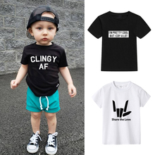Cotton Boys T-Shirt For Kids Baby Boys Casual Short Sleeve Printed T-shirt for Boys Girls Summer Top Tees Children Clothes new 2018 brand summer 100% cotton baby boys clothing toddler children kids clothes tees t shirt short sleeve t shirt boys blouse