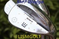 SM7 Cunei Vokey Design golf clubs SM7 Sabbia Lob Wedge 50/52/54/56/58/60 Gradi In Acciaio albero Con Specchio Argento Putter Ferri Da Stiro