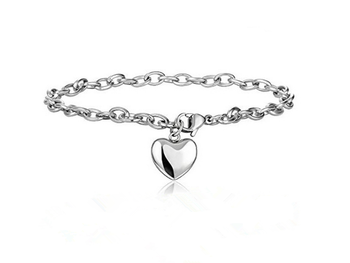 Love Heart Chain Bracelets  1