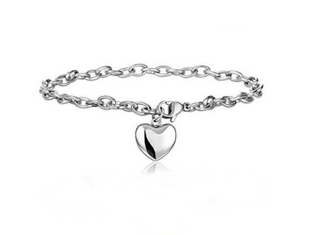 Love Heart Chain Bracelets  1