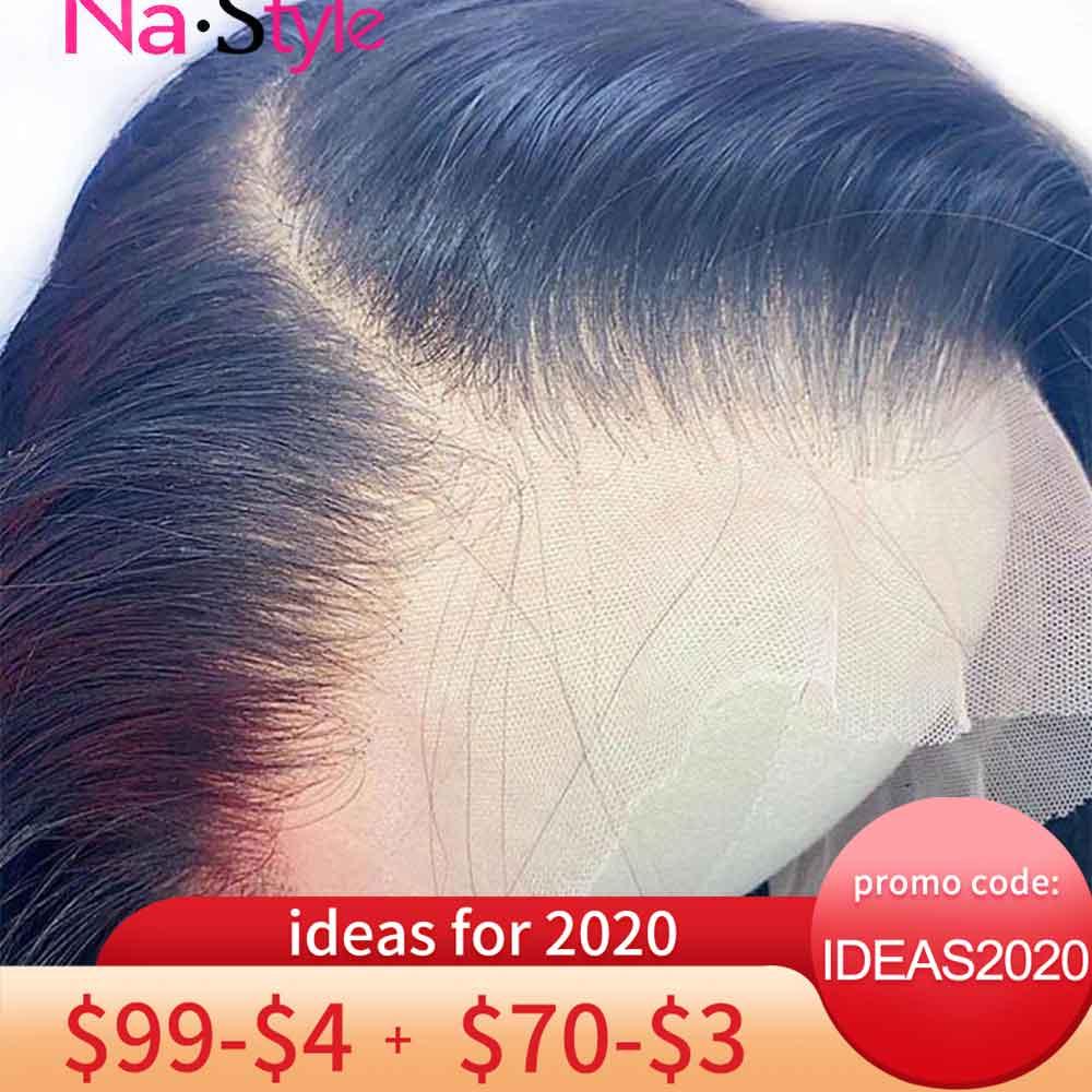 Perruques de dentelle transparentes HD pré cueillies 360 perruque frontale de dentelle Invisible avant de lacet perruques droite 13x6 avant de dentelle perruques de cheveux humains Remy