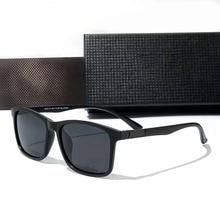 Classic Square TR90 Polarized Sunglasses Men Fashion Retro Colorful Eyewear Outdoor Sports Driving Glasses UV400 Gafas De Sol