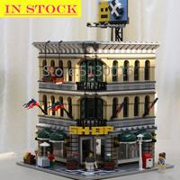 В наличии, 15005, серия Street View Creator, Grand emperium, строительные блоки, 2182 шт., игрушки, совместимые с bela 10211