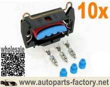 Longyue 10 stücke Spule Pack Coilpack Stecker Für Zndspule Spule Stecker EDIS Megasquirt ECU 89FG 14A464 HCB für Ford
