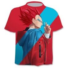 Funny T-Shirt Character Goku Short-Sleeve Summer Tops Male 3d Print 6XL Tee Z Men