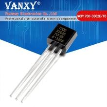 10Pcs MCP1700 3302E/Om 92 MCP1700 1700 3302E TO92 MCP1700 3302E Vaste Ldo Voltage Regulator