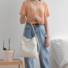 Soft Canvas Bag For Women 2019 Luxury Handbags Women Bags Designer Shoulder Bag Ladies Handbag Student Girls Crossbody Bags Sac(China)