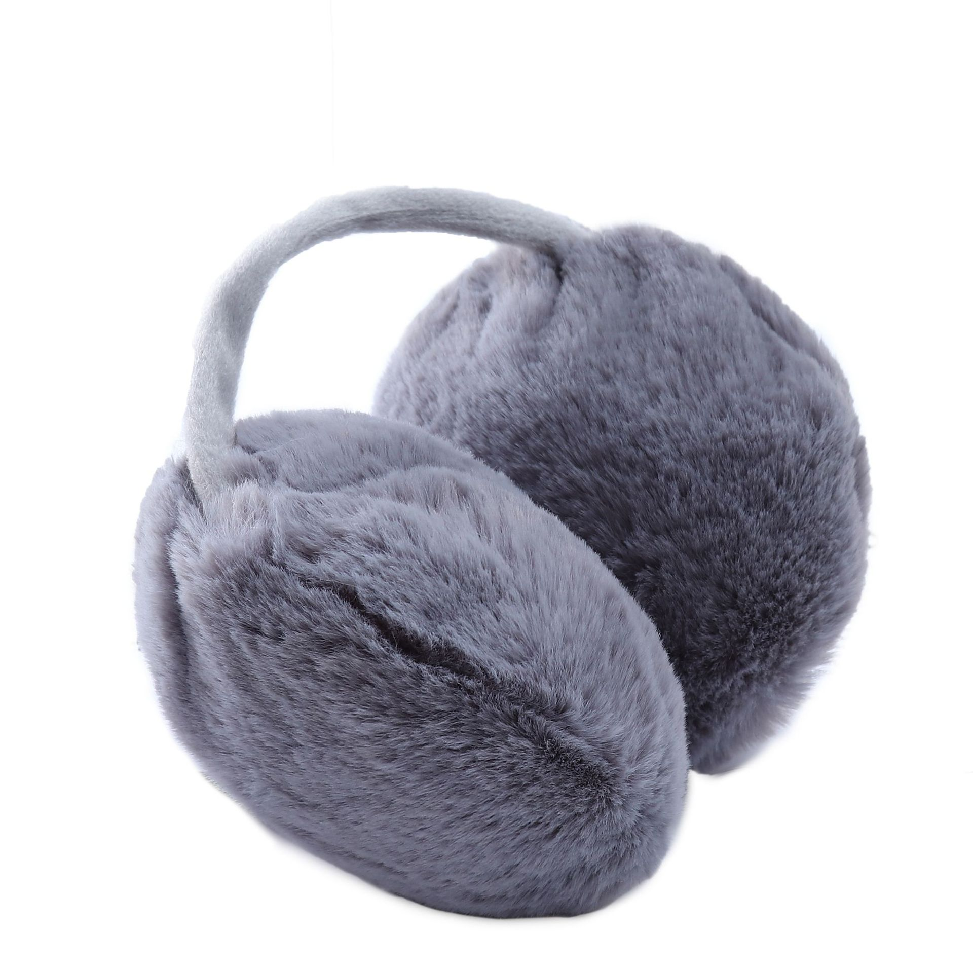 New Solid Color Fur Earmuffs For Ladies Autumn And Winter Ear Warmer And Comfortable Unisex Ski Headphones Casque Ear Muffs Cute