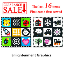 CLEARANCE Cloth Books Baby Toys 0 6 12 Months Montessori Educational Toys 0 Up To 1 Year Soft Newborns Kids Children Fabric Book