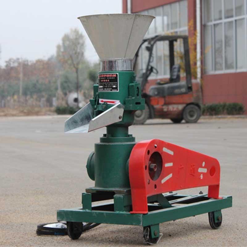 220V,2.2kw Belt driven 120 model wood pellet mill machine,feed pellet mill machine,without motor,pellets mill machine