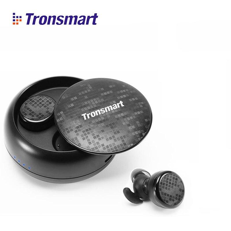 Tronsmart Spunky TWS Bluetooth écouteur sans fil casque véritable sans fil stéréo écouteurs IPX5 étanche avec micro pour téléphones