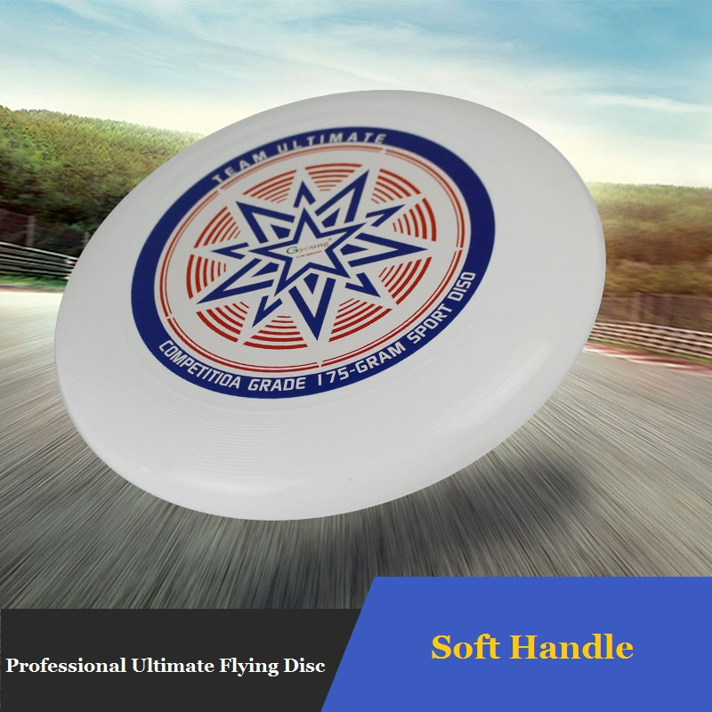 Ultra Star 175G Ultimate Flying Disc For Competition White Beach Frisbee Flying Sport Disc Flying Saucer