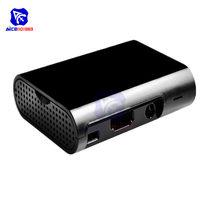 Diymore Raspberry Pi 3 Modell B Plus Raspberry Pi 3 2 Schutzhülle Abdeckung Shell Gehäuse ABS Box