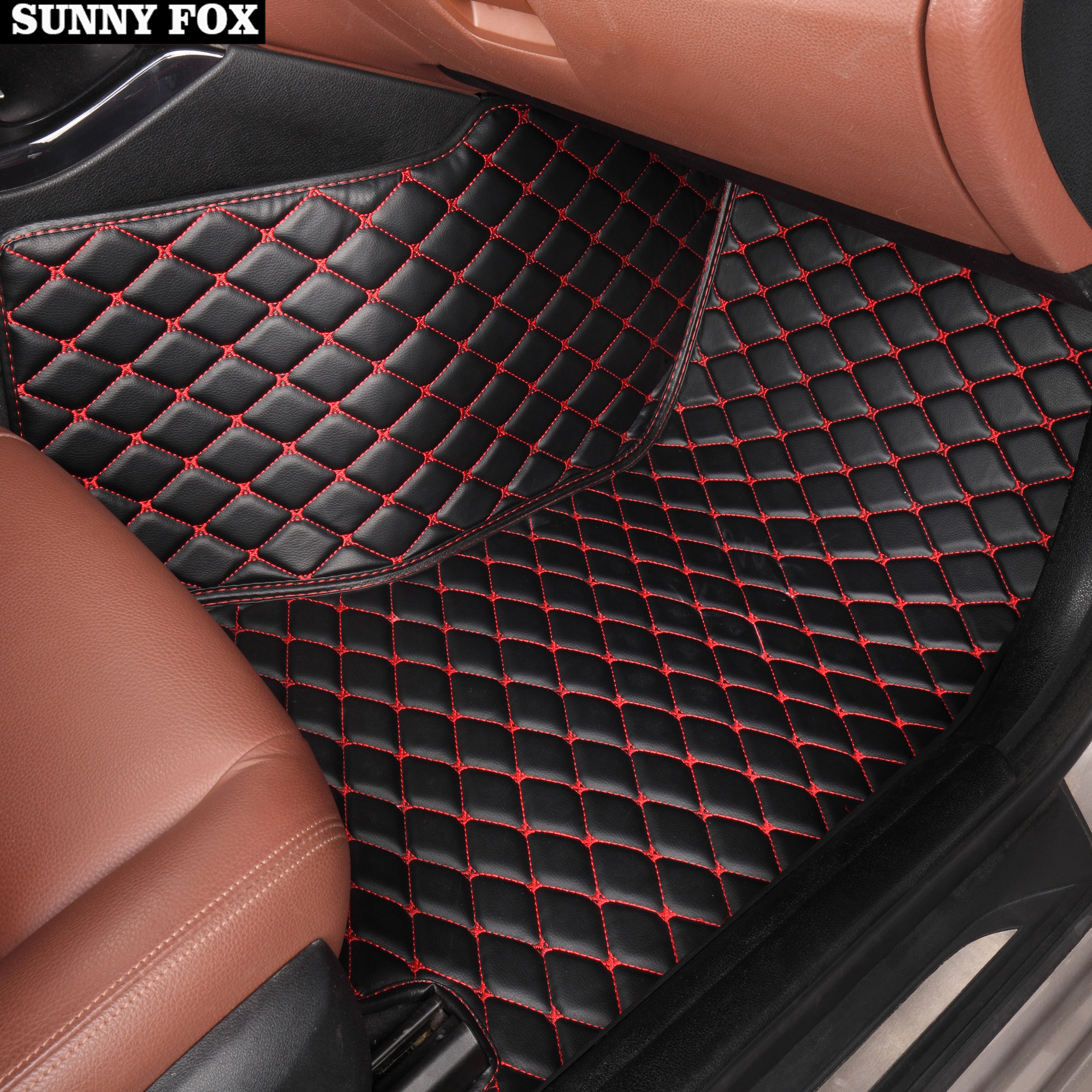 Fixings Perfect Fit Black Carpet Car Floor Mats Tailored for Honda CR-Z 2010/>