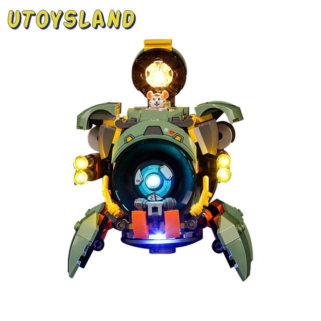 Vonado USB LED Lighting Kit For Overwatch Wrecking Ball 75976(LED Included Only, No Kit) Toy For Children Educational Toys Gift