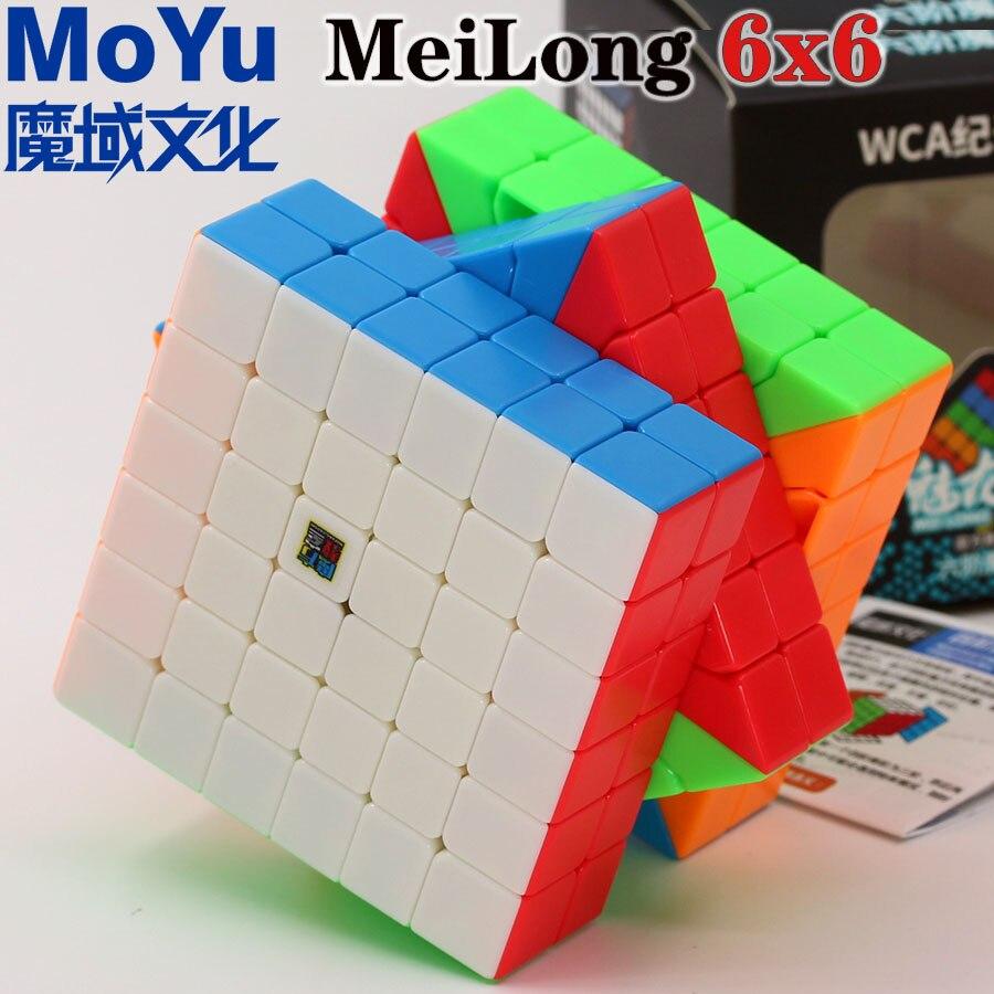 Magic cube puzzle MoYu MeiLong series 6x6x6 Cubing classroom 6x6 professional speed cube educational twist wisdom toys game